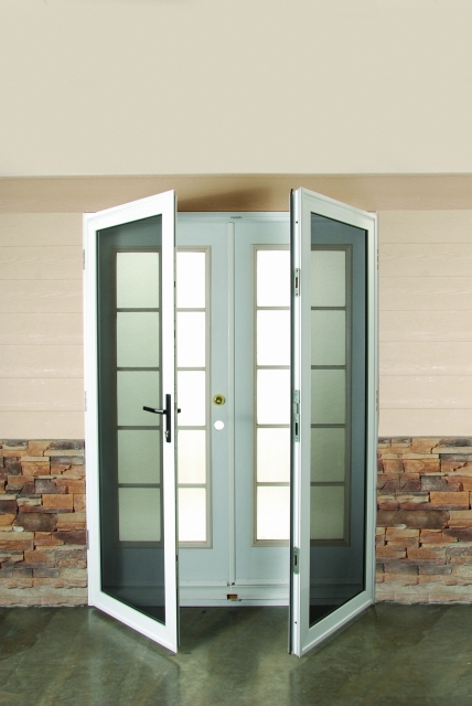Security screen doors security screen doors for double doors for Double storm doors
