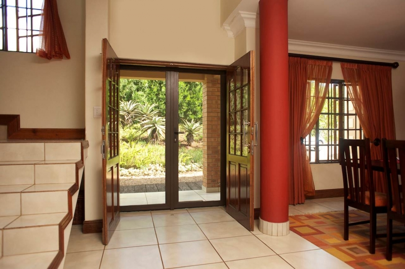... Double Hinged Screen Doors (Inside View)