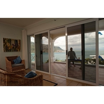 Sliding Patio Door Security Screens (Inside View)