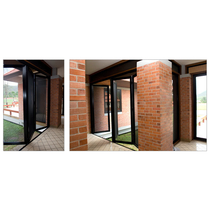 Commercial Bi Fold Security Screens